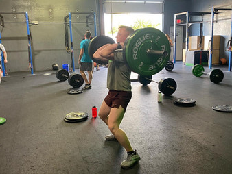 5/7/21 - WOD - You Need to Be Here Today