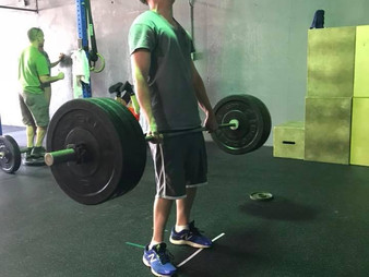 WOD 05/25/18 - Fight or Flight