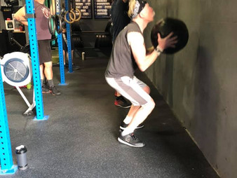 WOD - 10/26/20 - First Day Out