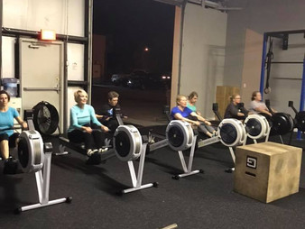 WOD 12/15/18 - Team 10k Row