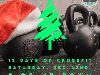 WOD 12/21/18 - 12 Days of CrossFit