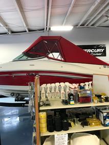 Jockey Red Full Boat Top