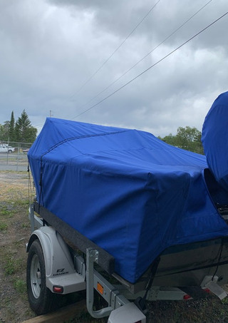 Pacific Blue Travel Cover