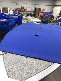 Pacific Blue Cockpit Cover