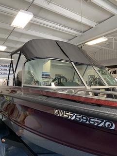 Charcoal Grey Boat Top