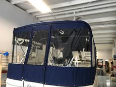 Navy Pontoon Enclosure