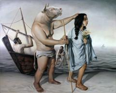 Reconstrucción de Minotauro ciego guiado