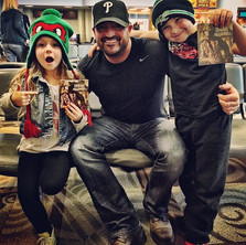 Love these kids I met in the Nashville a