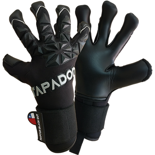 Guantes Tapadon Raptor Black Out