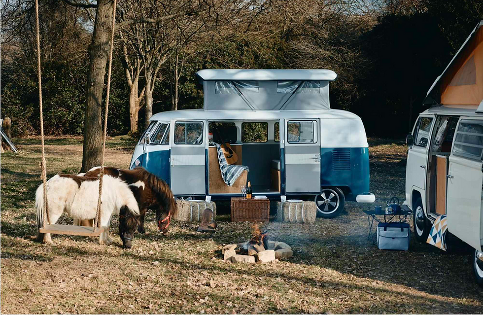VW camper van hire in the UK, London, Hampshire and Surrey