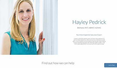Habitude website by Jenny Mawhood Web Design