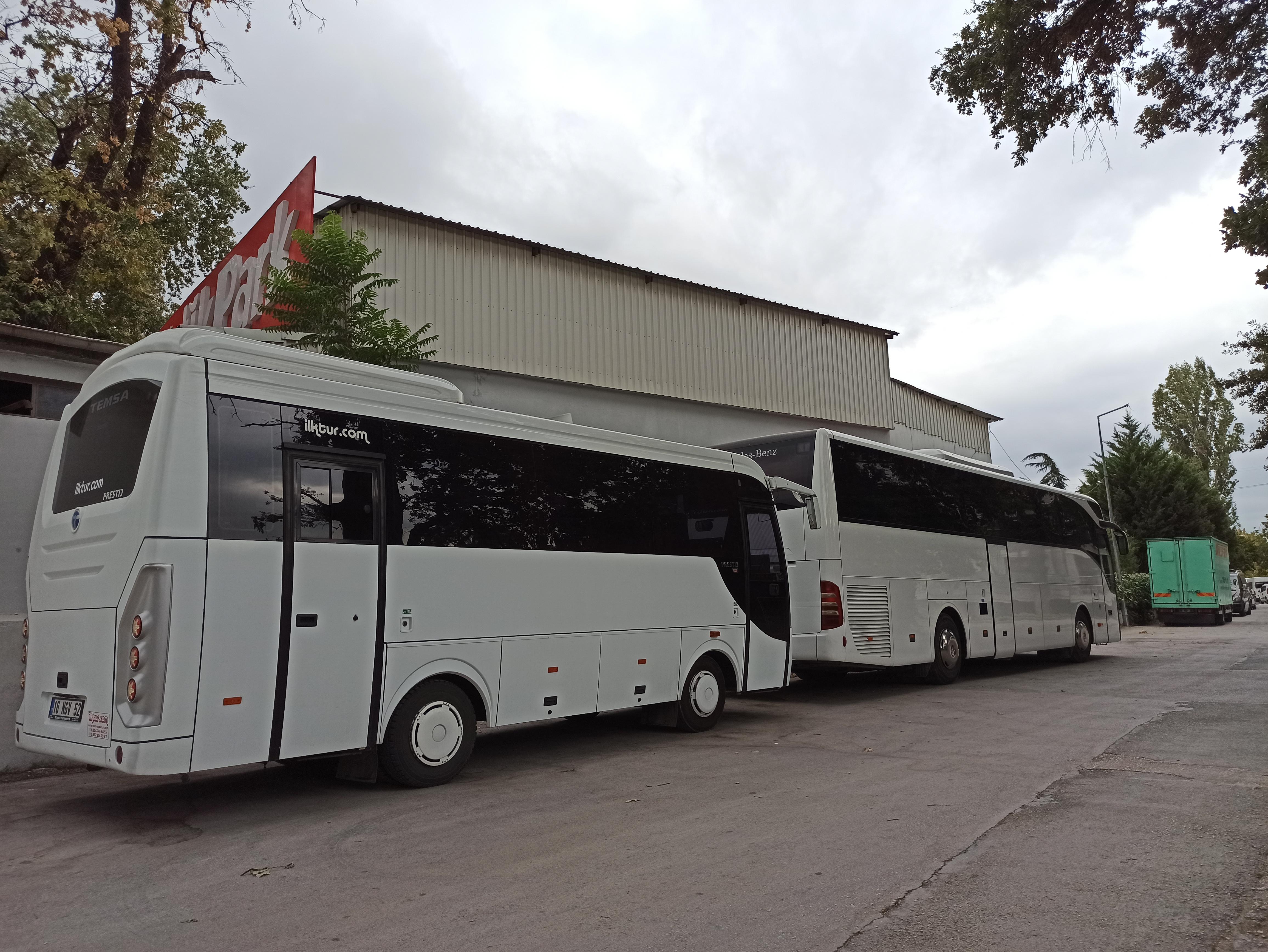 bursa otobüs kiralama