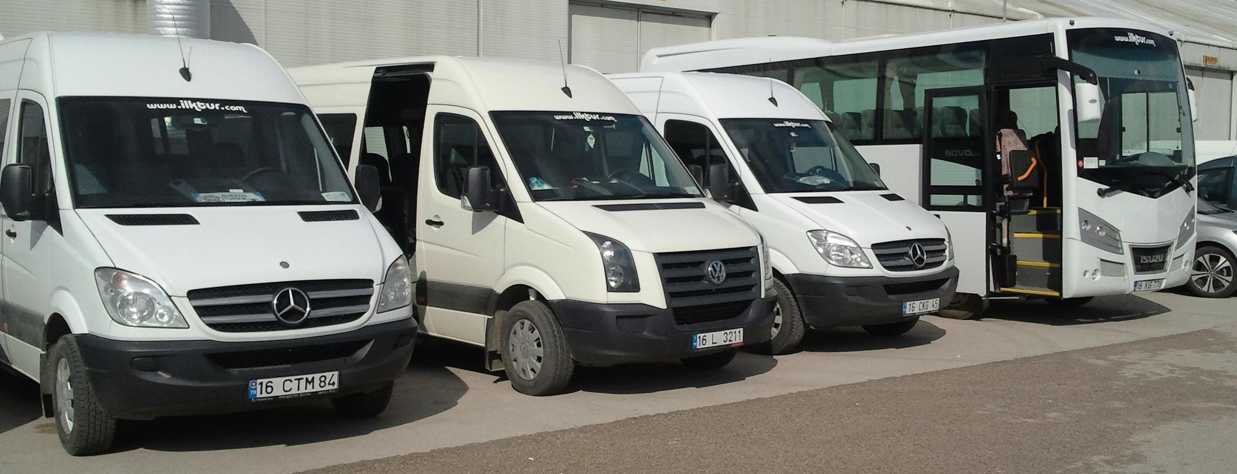 bursa midibus minibus kiralama