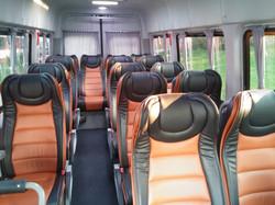 vip deri koltuklu minibüs