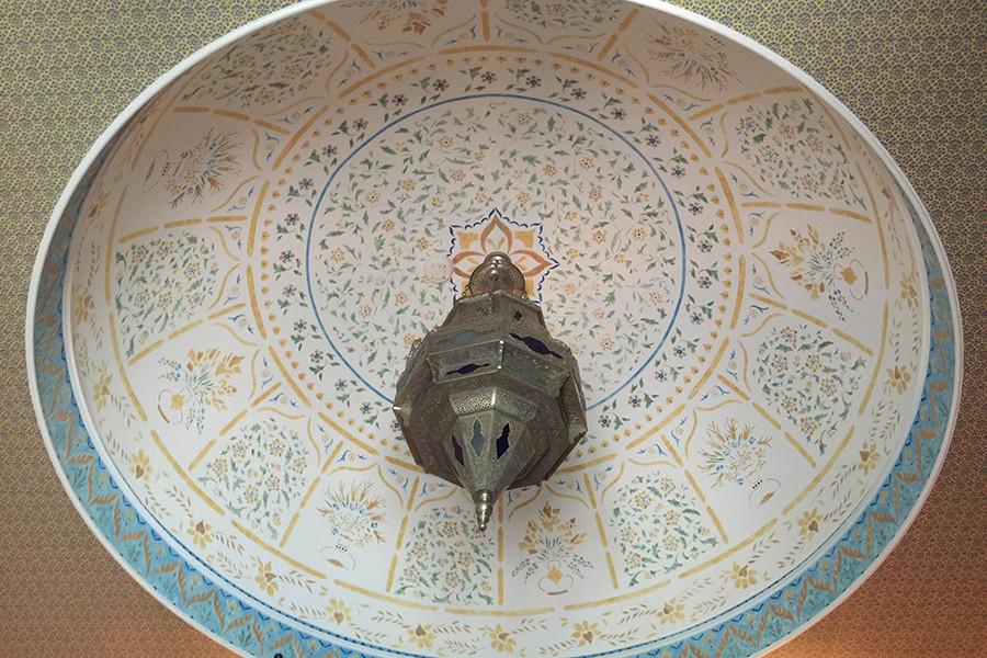 Stenciled dome