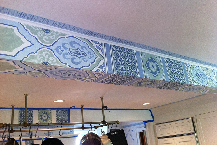 Chinese style beams