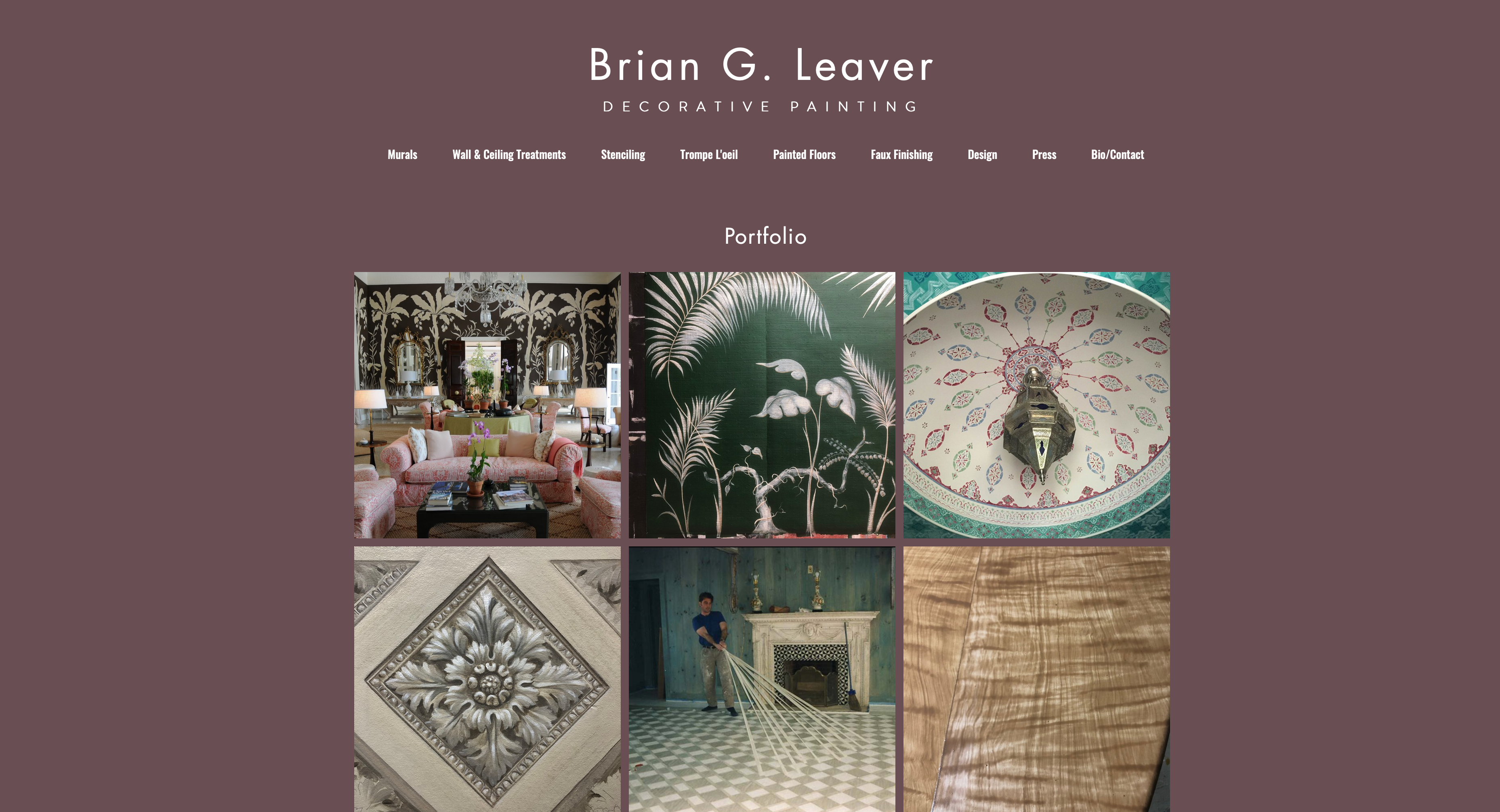 DESIGNINGJOE-Brian-Leaver Website