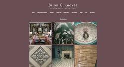DESIGNINGJOE-Brian-Leaver Website