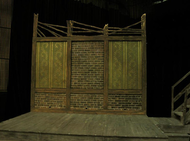 Oliver set, rotating panels