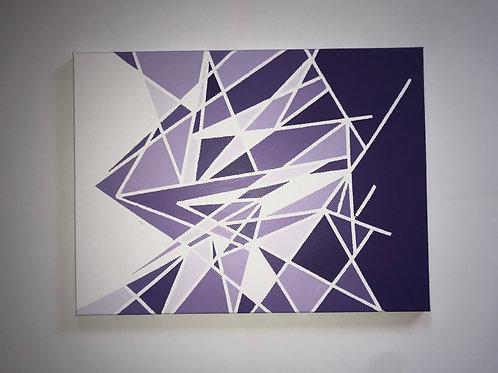 18 x 24 Purple Wall