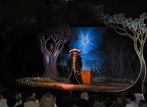 Set design for Children's Museum of the East End 'Theater in a Box' Joe Pintauro's Mid Summer Night's Madness