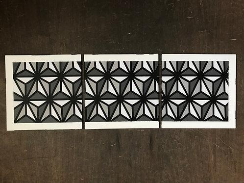 "Epcot Triptych (3 10""x10"" panels)"