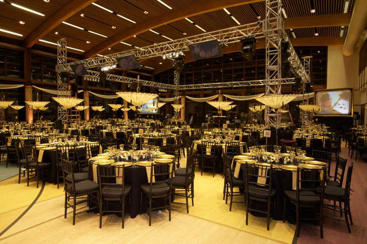 Event design for 'The Starlight Ball' at the Ross School