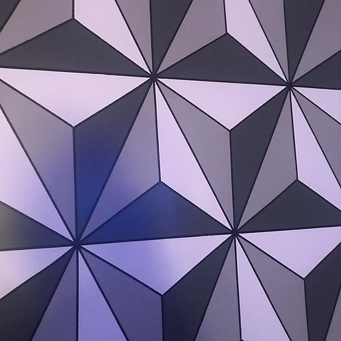 36x48 Epcot inspired painting