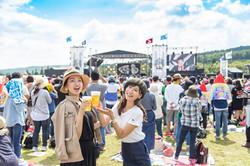 秋田CARAVAN MUSIC FES 2017 取材撮影
