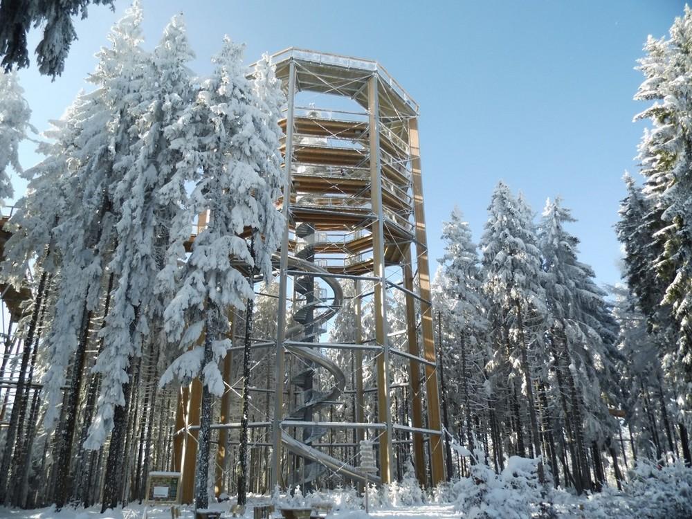 Stezka korunami stromů (34 km)