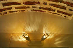 Osvětlení dolní koupelny