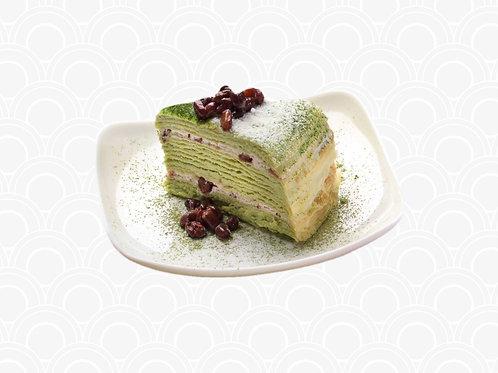 418 Matcha Crepe Cake