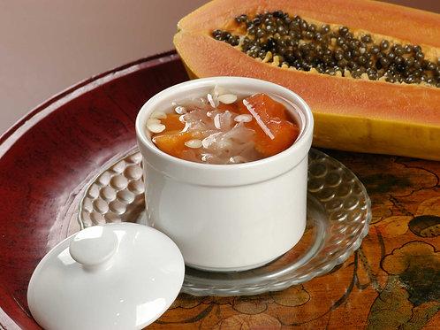 317 Boiled White Fungus w Papaya
