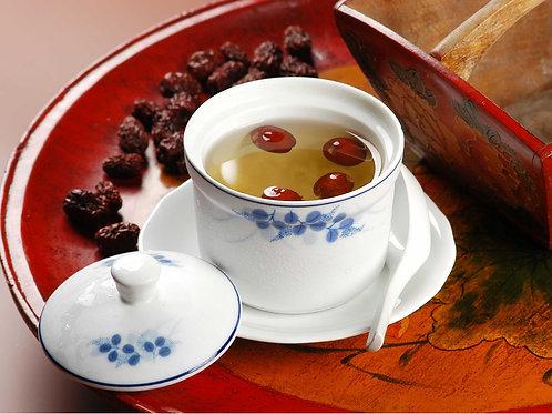 316 Boiled Hashima w Dates, Lotus seed