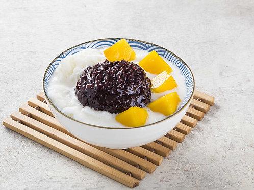 107 Mango Snowflake w Black Glutinous Rice