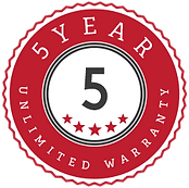 The Basement Store - 5 Year Unlimited Warranty