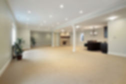 Newly renovated basement in Oakville, ON