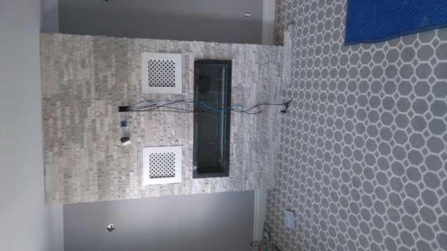 basement feature wall