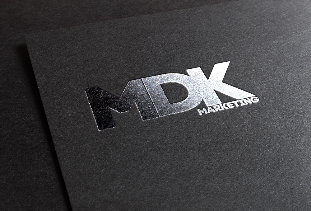 Logo design and branding created in house at MDK Marketing