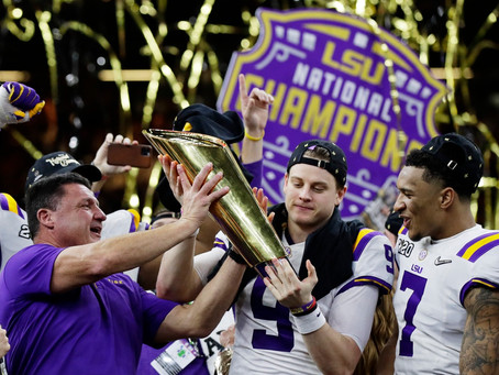 LSU's Undefeated Season Breaks Numerous Records!