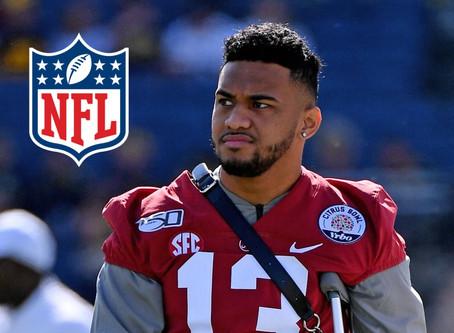 Alabama QB Tua Tagovailoa Will Enter NFL Draft!