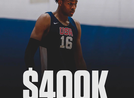 Five Star Greg Brown Offered $400,000 To Play G-League