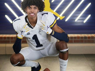 #1 WR In Michigan Andrel Anthony Jr. Commits To Michigan