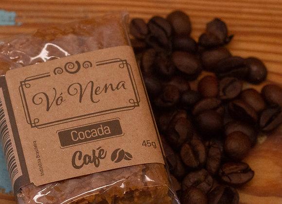 Cocada Caseira - Café - 45g