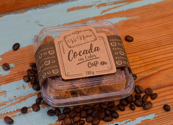 Cocada em Cubos - Café - 180g