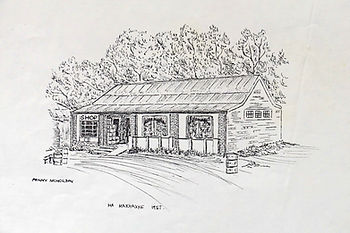 Ha Makhake Store line drawing 1957 (emai