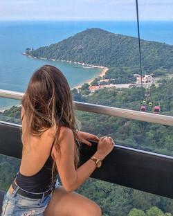 Vista desde 230 metros de altura en parq