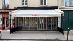 Rentoilage de store et lambrequins lumineux pour Mimo!