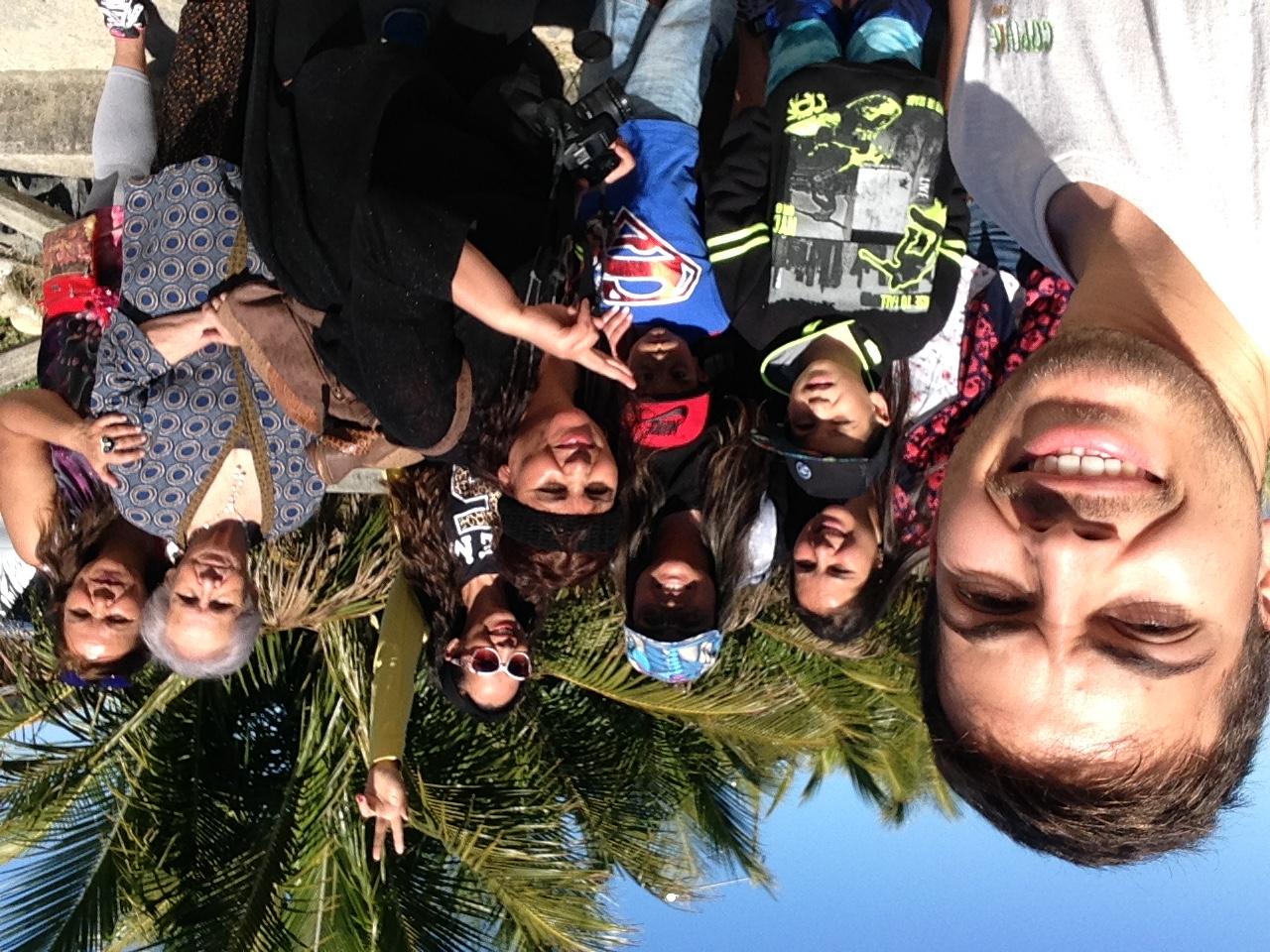 Selfie en trekking
