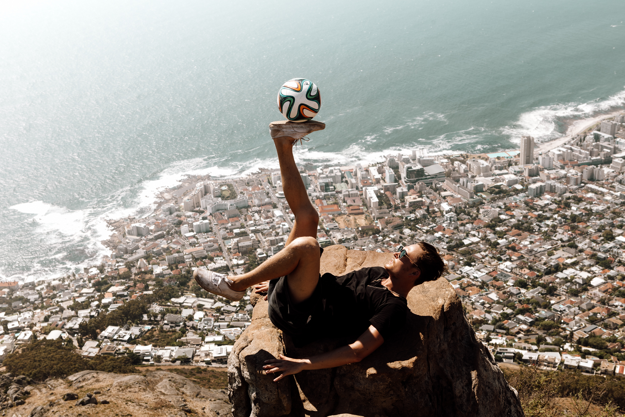 Football Freestyle Trick | CAPE TOWN